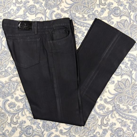 "Lauren Jeans Tall Buffed Denim Jeans 34"" inseam"